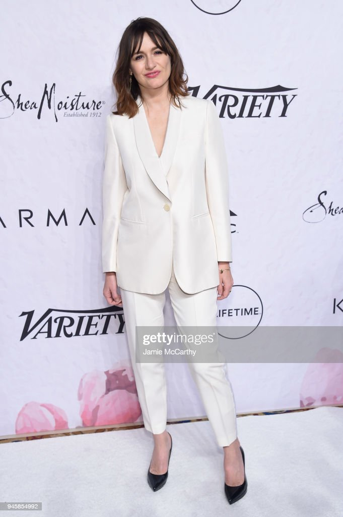 Emily Mortimer attends Variety's Power of Women: New York at Cipriani Wall Street on April 13, 2018 in New York City.