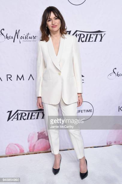 Emily Mortimer attends Variety's Power of Women New York at Cipriani Wall Street on April 13 2018 in New York City