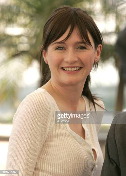 """Emily Mortimer during 2005 Cannes Film Festival - """"Match Point"""" Photocall at Palais Du Festival in Cannes, France."""
