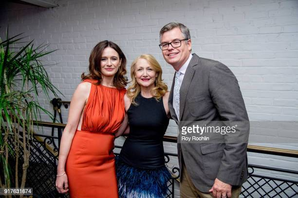 Emily Mortimer Patricia Clarkson and Eric d'Arbeloff attend the screening after party for 'The Party' hosted by Roadside Attractions and Great Point...