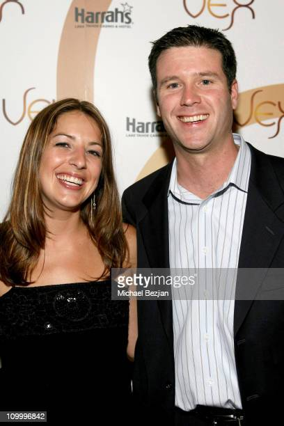 Emily Myers and Kurt Melien during American Century Golf Championship Party at Harrah's Casino and Vex Night Club July 16 2006 at Harrah's Casino and...