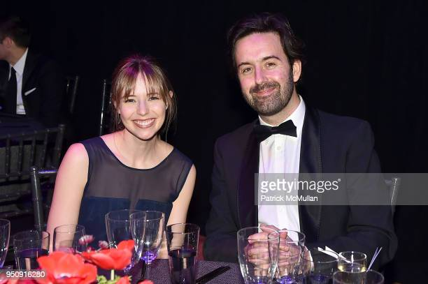 Emily Nestor and Dan Stewart attend the 2018 TIME 100 Gala at Jazz at Lincoln Center on April 24 2018 in New York City
