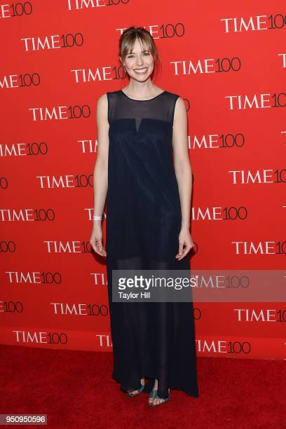 Emily Nestor attends the 2018 Time 100 Gala at Frederick P Rose Hall Jazz at Lincoln Center on April 24 2018 in New York City
