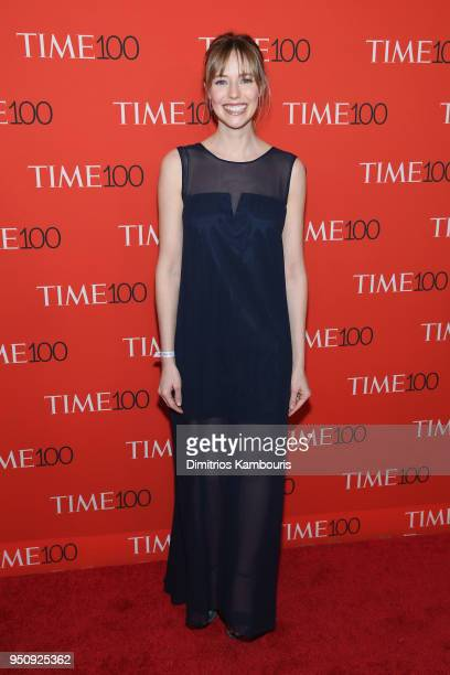 Emily Nestor attends the 2018 Time 100 Gala at Jazz at Lincoln Center on April 24 2018 in New York City