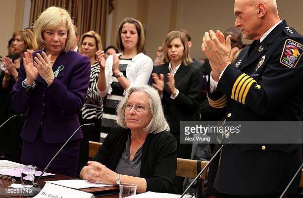 Emily Nottingham mother of Gabe Zimmerman a staff member to former Rep Gabrielle Giffords' who was killed during the Tucson Arizona shootings...