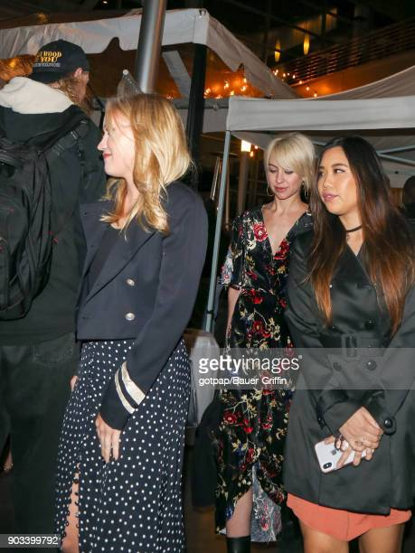 Emily Osment and Chelsea Kane are seen on January 09 2018 in Los Angeles California