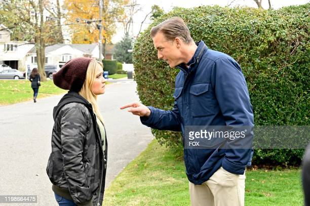 Emily Osment and guest star Jeff Hephner in the Courageous AF episode of ALMOST FAMILY airing Wednesday Jan 8 on FOX