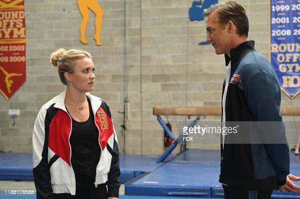 Emily Osment and guest star Jeff Hephner in the Risky AF episode of ALMOST FAMILY airing Wednesday Nov 20 on FOX