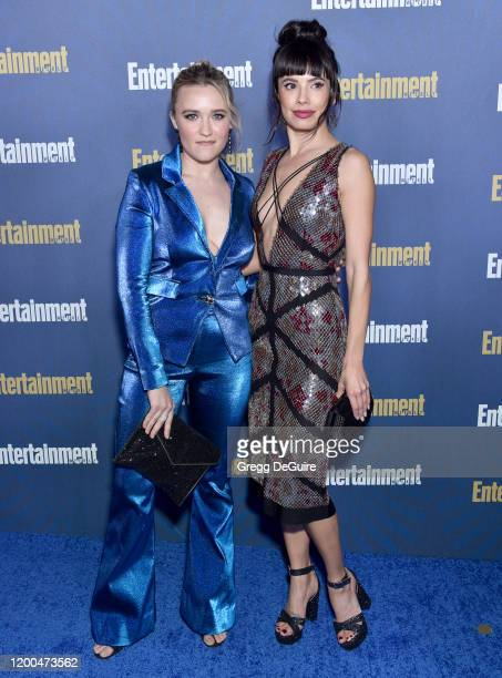 Emily Osment and Jenna Lyng Adams attend the Entertainment Weekly PreSAG Celebration at Chateau Marmont on January 18 2020 in Los Angeles California