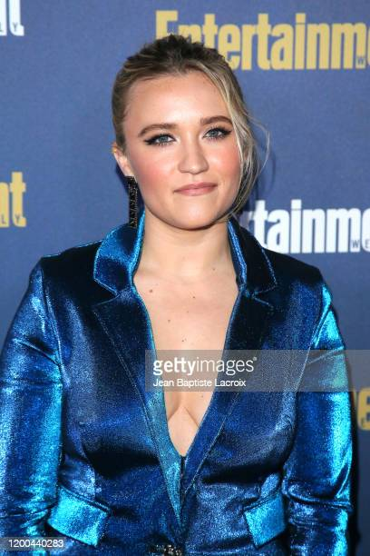 Emily Osment attends Entertainment Weekly PreSAG Celebration at Chateau Marmont on January 18 2020 in Los Angeles California