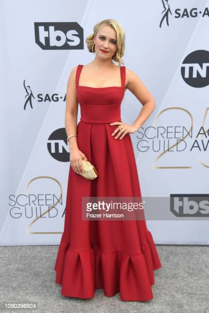 Emily Osment attends the 25th Annual Screen ActorsGuild Awards at The Shrine Auditorium on January 27, 2019 in Los Angeles, California.