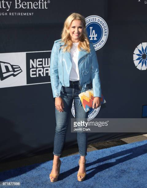 Emily Osment attends the 4th Annual Los Angeles Dodgers Foundation Blue Diamond Gala at Dodger Stadium on June 11 2018 in Los Angeles California