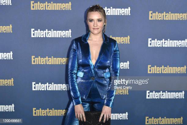 Emily Osment attends the Entertainment Weekly Honors Screen Actors Guild Awards Nominees Presented In Partnership With SAG Awards at Chateau Marmont...
