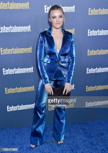 Emily Osment attends the Entertainment Weekly PreSAG Celebration at Chateau Marmont on January 18 2020 in Los Angeles California