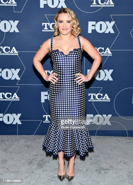 Emily Osment attends the FOX Winter TCA All Star Party at The Langham Huntington Pasadena on January 07 2020 in Pasadena California