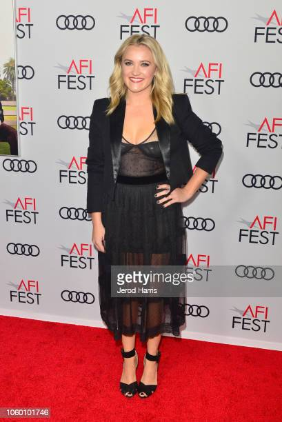 Emily Osment attends the Gala Screening of The Kominsky Method at AFI FEST 2018 Presented By Audi at TCL Chinese Theatre on November 10 2018 in...