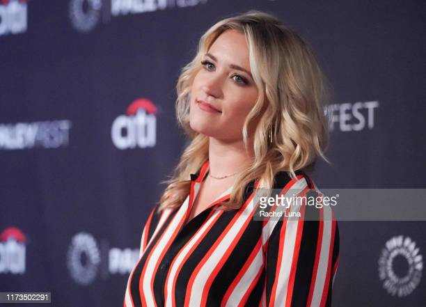Emily Osment attends the Paley Center for Media's 2019 PaleyFest Fall TV Previews for Almost Family at The Paley Center for Media on September 09...