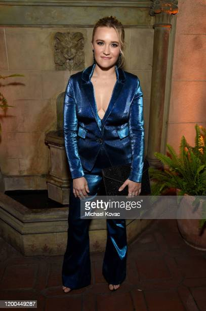 Emily Osment is seen as Entertainment Weekly Celebrates Screen Actors Guild Award Nominees at Chateau Marmont on January 18 2020 in Los Angeles...