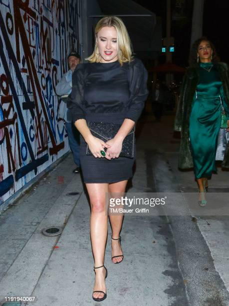 Emily Osment is seen on January 04 2020 in Los Angeles California