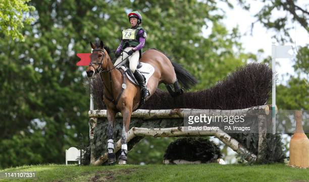 Emily Philp on Camembert during day four of the 2019 Mitsubishi Motors Badminton Horse Trials at The Badminton Estate Gloucestershire
