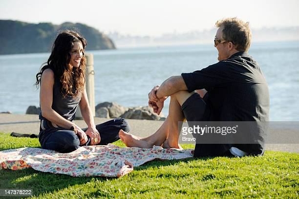 ADVISED Emily Picnic Date and Nail Salon Episode 103 Pictured Emily Morse date