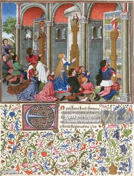 Emily Prays to Diana by Giovanni Boccaccio
