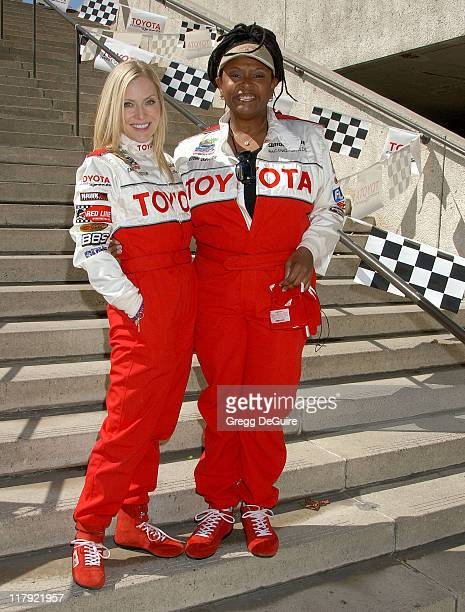 Emily Procter and Robin Quivers during 31st Anniversary Toyota Celebrity/Pro Race April 14 2007 at Streets of Long Beach in Long Beach California...