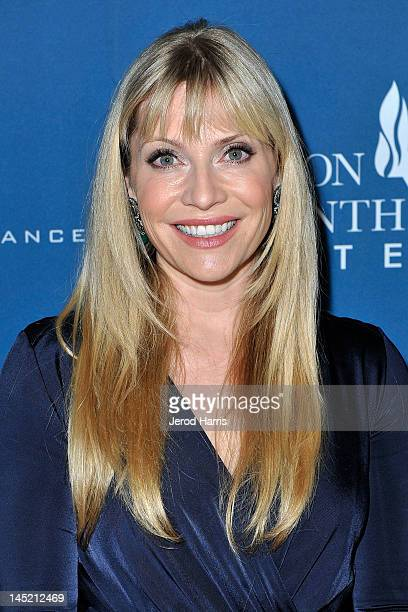Emily Procter arrives at Simon Wiesenthal Center's Annual National Tribute Dinner Honoring Jerry Bruckheimer in The Beverly Hills Hilton on May 23...