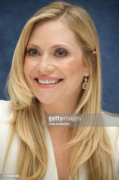 Emily Procter at the CSI Miami press conference at the Four Seasons Hotel on April 22 2009 in Beverly Hills California
