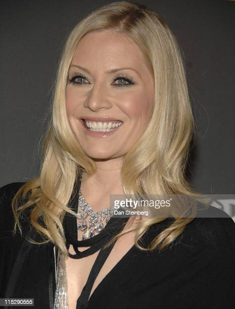 Emily Procter at the Guitar Hero III Halloween launch party at Best Buy on October 27 2007 in Los Angeles California