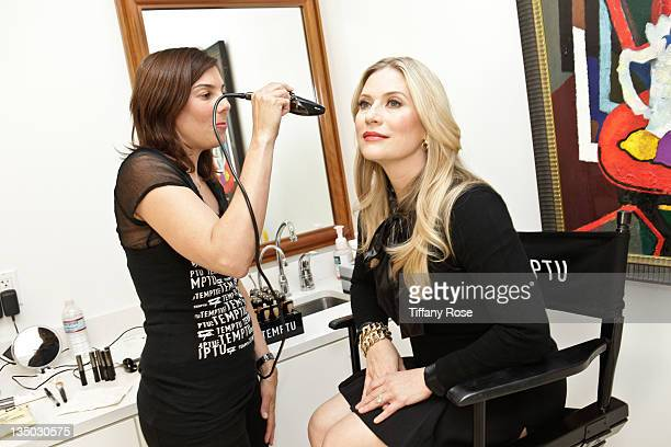 Emily Procter attends the Beauty Undercover Presents Beauty Bazaar To Benefit PS ARTS on December 5 2011 in Beverly Hills California