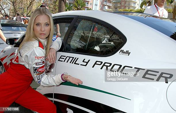 Emily Procter during 31st Anniversary Toyota Celebrity/Pro Race April 14 2007 at Streets of Long Beach in Long Beach California United States