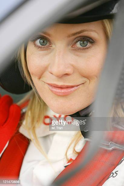Emily Procter during 31st Annual Toyota Pro/Celebrity Race Press Day at Downtown in Long Beach California United States