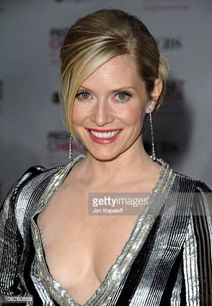 Emily Procter during 33rd Annual People's Choice Awards Arrivals at Shrine Auditorium in Los Angeles California United States