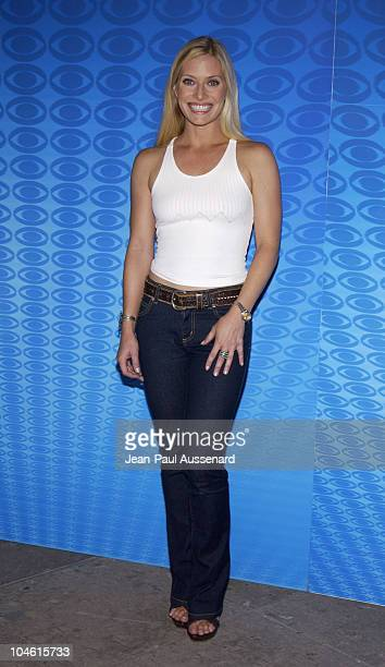 Emily Procter during CBS Summer 2002 Press Tour Party at Ritz Carlton Hotel in Pasadena California United States