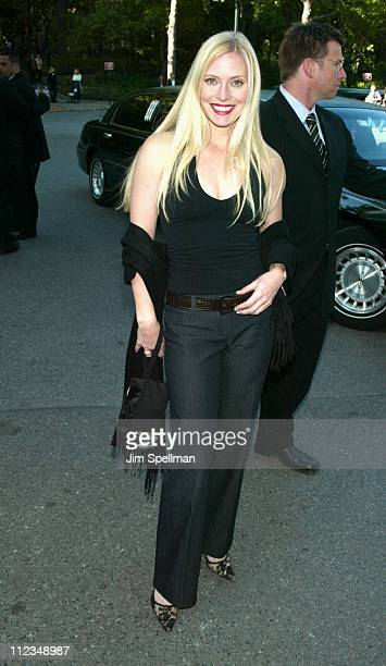 Emily Procter during CBS Television 20022003 Upfront Party at Tavern On the Green in New York City New York United States