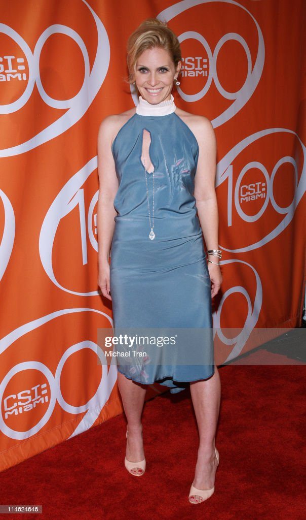 """CSI: Miami"" 100th Episode Party - Arrivals : News Photo"
