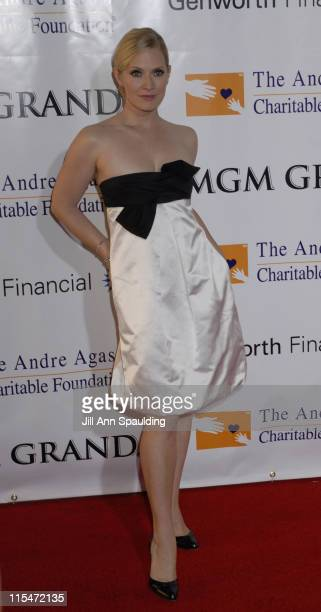 Emily Procter during The Andre Agassi Charitable Foundation's 11th Grand Slam for Children at MGM Grand in Las Vegas Nevada United States
