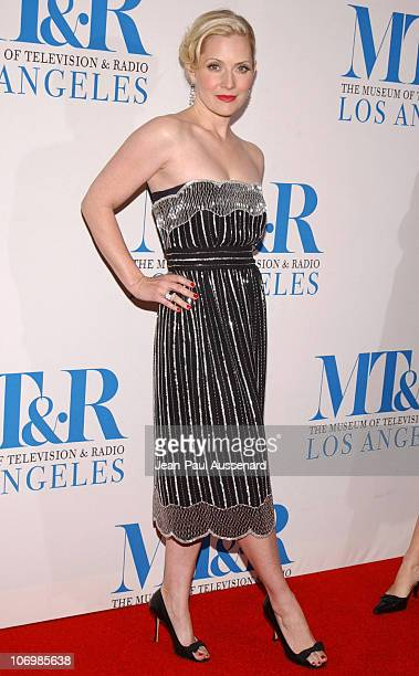 Emily Procter during The Museum of Television Radio Honors Leslie Moonves and Jerry Bruckheimer Arrivals at Regent Beverly Wilshire Hotel in Beverly...