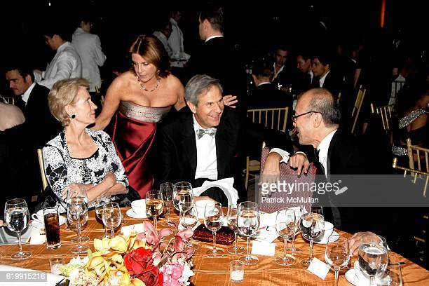 Emily Rafferty Joyce Niebart Lee Neibart and Harold Koda attend The Fashion Group International NIGHT OF STARS 2008 Gala The Alchemists at Cipriani...