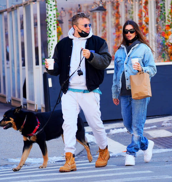 NY: Celebrity Sightings In New York City - February 21, 2021