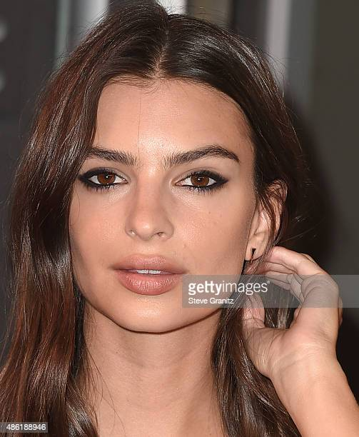 Emily Ratajkowski arrives at the 2015 MTV Video Music Awards at Microsoft Theater on August 30 2015 in Los Angeles California