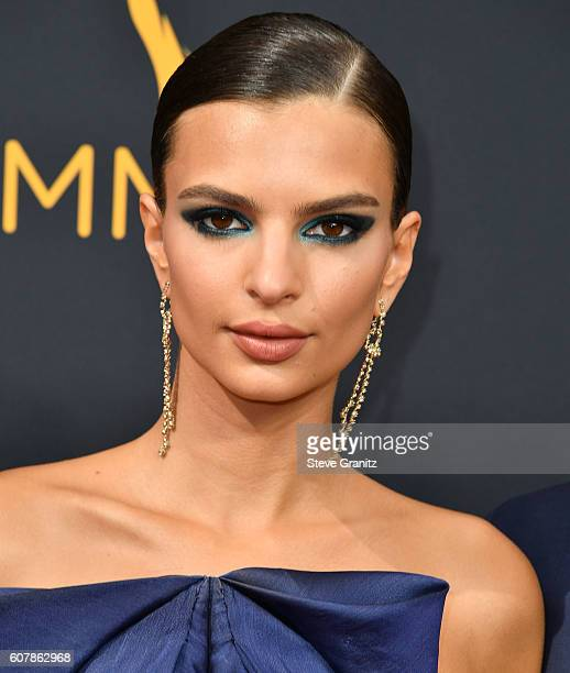 Emily Ratajkowski arrives at the 68th Annual Primetime Emmy Awards at Microsoft Theater on September 18 2016 in Los Angeles California