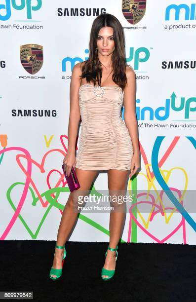 Emily Ratajkowski attends Goldie's Love In For Kids at Ron Burkle's Green Acres Estate on November 3 2017 in Beverly Hills California