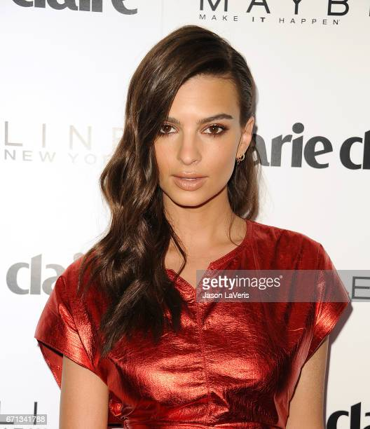 Emily Ratajkowski attends Marie Claire's Fresh Faces event at Doheny Room on April 21 2017 in West Hollywood California