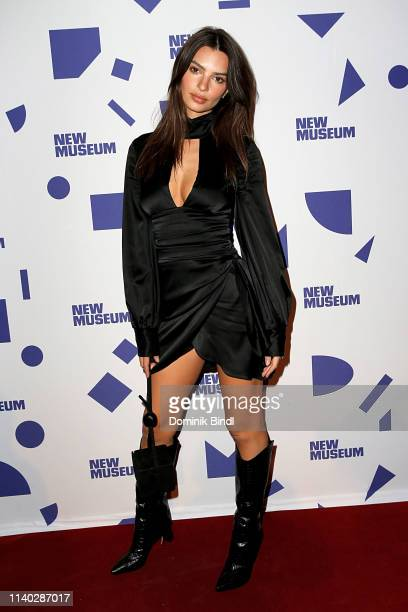 Emily Ratajkowski attends New Museum 2019 Spring Gala at Cipriani Wall Street on April 03 2019 in New York City