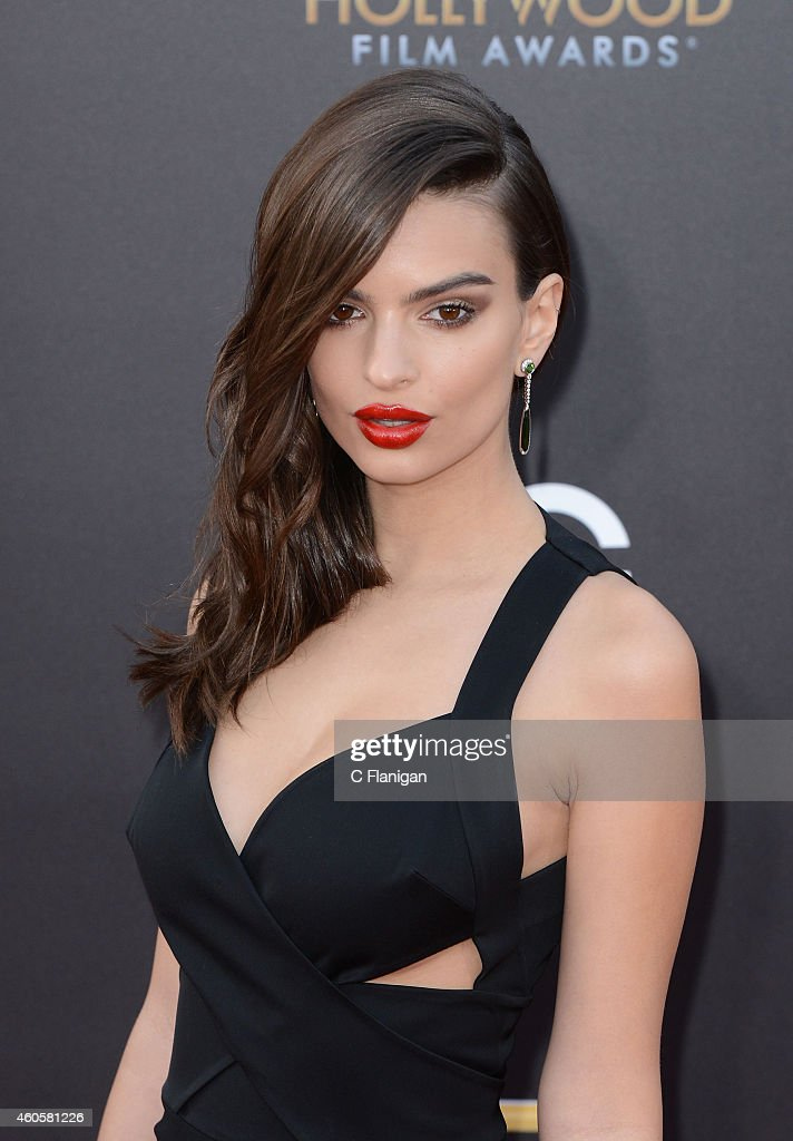 Emily Ratajkowski attends the 18th Annual Hollywood Film Awards at The Palladium on November 14, 2014 in Hollywood, California.