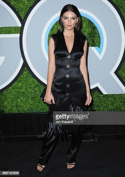 Emily Ratajkowski attends the 2017 GQ Men Of The Year Party at Chateau Marmont on December 7 2017 in Los Angeles California