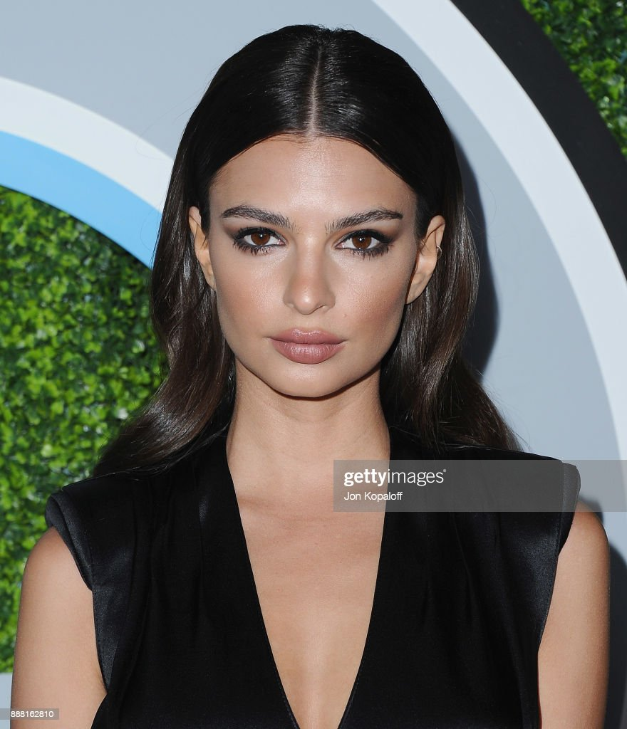 Emily Ratajkowski attends the 2017 GQ Men Of The Year Party at Chateau Marmont on December 7, 2017 in Los Angeles, California.