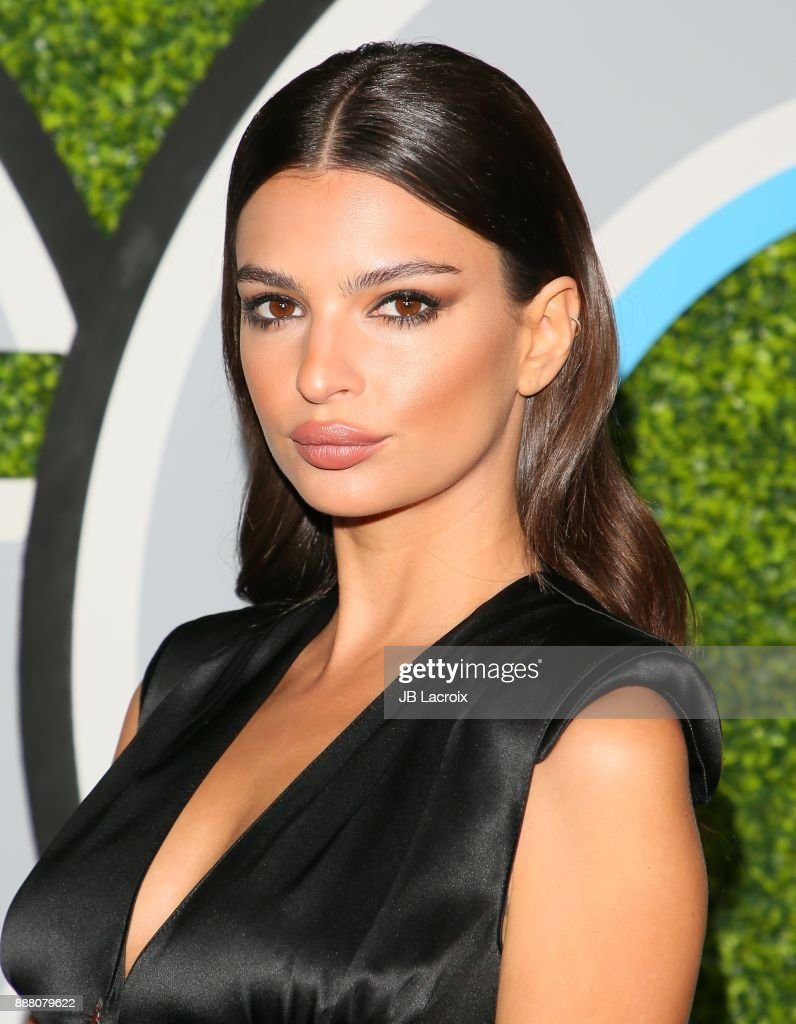 Emily Ratajkowski attends the 2017 GQ Men of The Year Party on December 07, 2017 in Los Angeles, California.